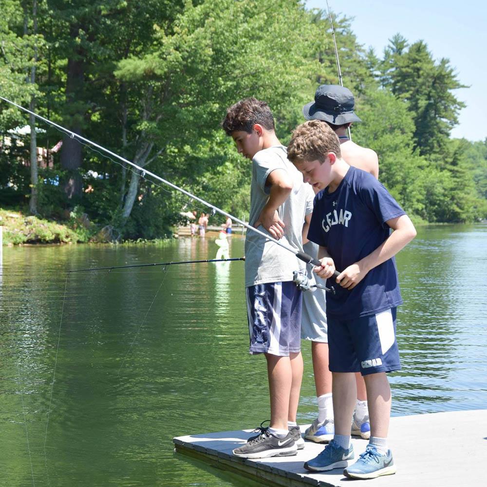 a-fishing