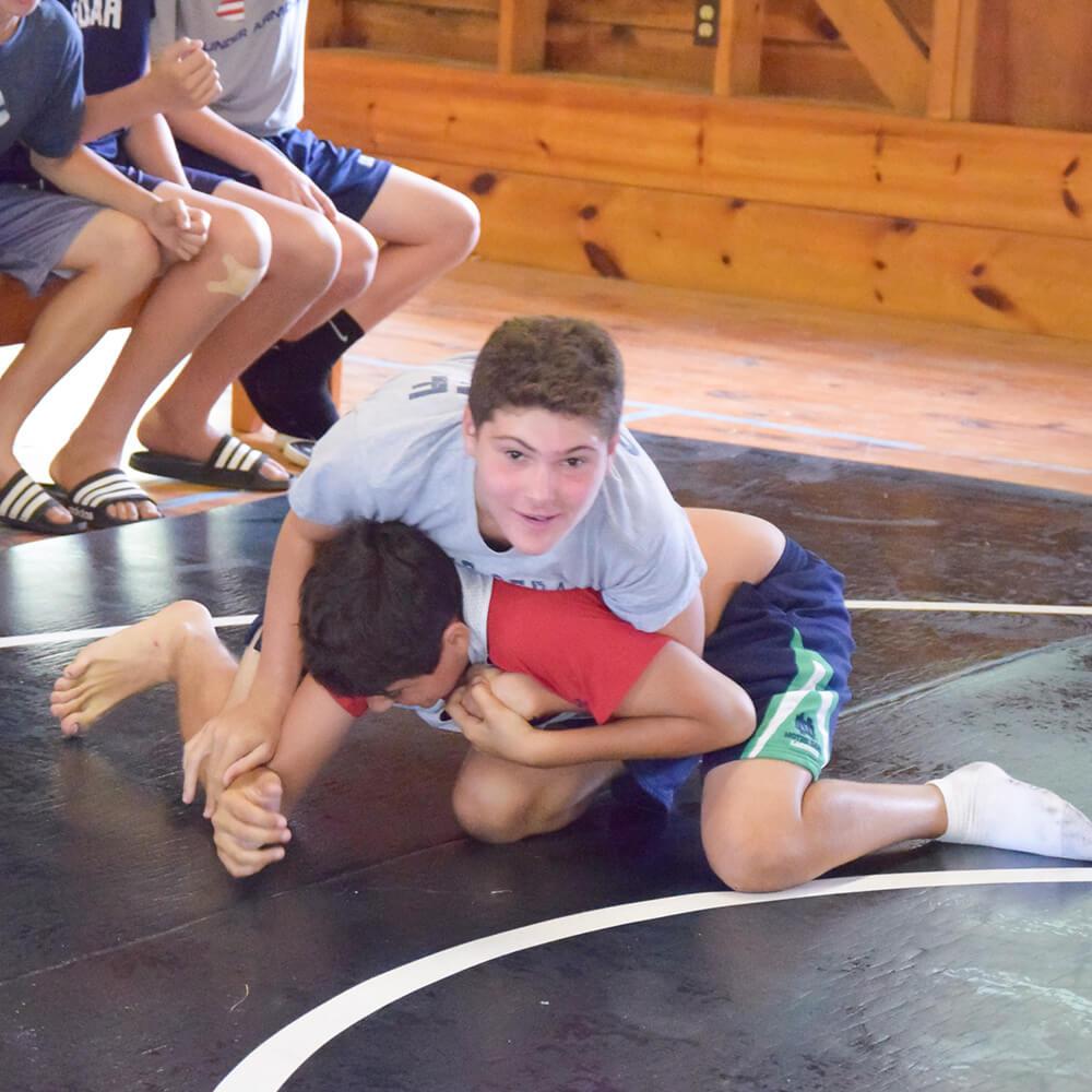 a-wrestling